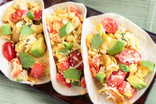 How to Turn Taco Night Leftovers Into Yummy Breakfast Tacos!