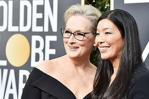 "Ai-jen Poo of the National Domestic Workers Alliance: Meet Meryl Streep's ""Plus One"" at the Golden Globe Awards"