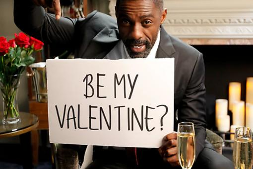 Idris Elba Asks Kids What to Do on His Valentine's Date! Watch This & Get Ready to Laugh!