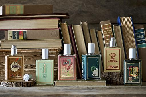 Unisex Perfume: Imaginary Authors Fragrances Combine Scent With Stories of Intrigue, Passion & Longing