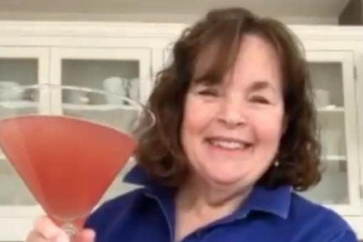 Ina Garten's Giant Quarantine Cosmopolitan Cocktail Recipe Is Shaken, Not Stirred, for 30 Seconds (Of Course!)