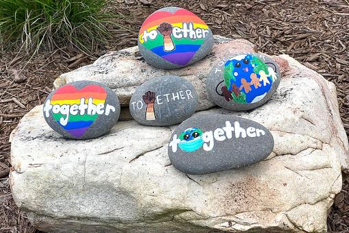 International Drop a Rock Day 2020: One Word, One Goal – Together!
