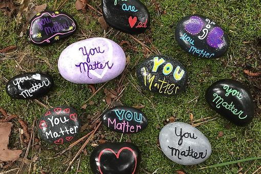 "International Drop a Rock Day: Help Spread the Message That ""You Matter"""