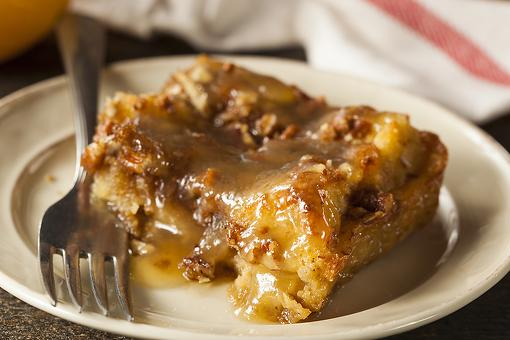 This Bread Pudding Recipe With Bourbon Sauce Is What to Make for That Sweet Tooth