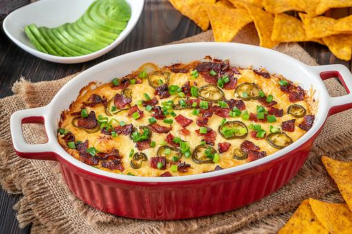 Cheesy Jalapeno Popper Dip Recipe With Bacon: Those Tortilla Chips Won't Know What Hit 'Em