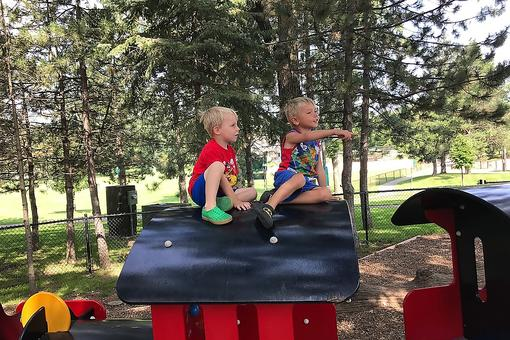 "Jewett Park: Why You Need to Chug on Down to ""the Train Park"" in Deerfield, Illinois!"