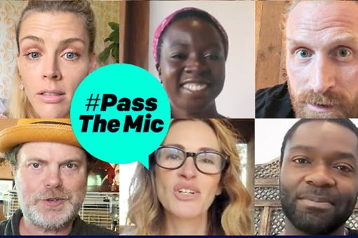 #PassTheMic: Julia Roberts, Hugh Jackman, Danai Gurira, David Oyelowo & More to Hand Over Social Media Channels for ONE Campaign's Response to COVID-19
