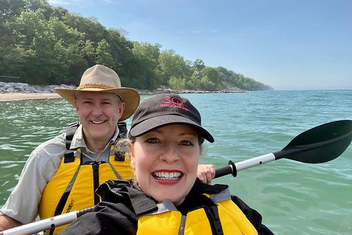 "Kayak In a Bag: How I Gave My Husband the ""Best Birthday Ever"" With an Inflatable Kayak"