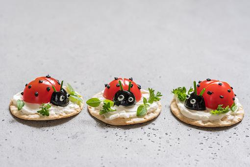 Ladybug Party Food Ideas: How to Make Healthy Ladybug-Themed Snacks for Parties or Snack Time
