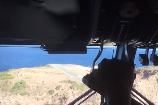Saba Island: Landing on One of the World's Most Dangerous Runways