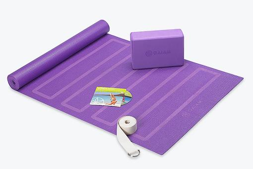Learn the Art of Yoga With the Gaiam Yoga for Beginner's Kit!