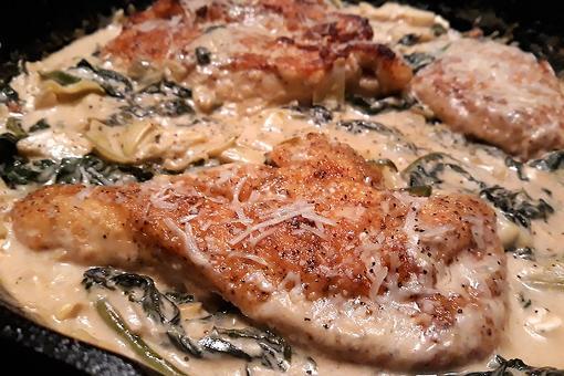 20-Minute Creamy Lemon Chicken Recipe: This Easy Lemon Chicken Recipe With Artichokes & Spinach Is Excellent