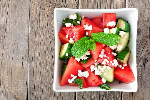 Watermelon Salad: This Easy Recipe Is Sweet & Tart at the Same Time!