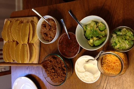 How to Make-Your-Own Taco Bar for Meatless Mondays!