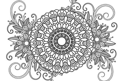 Mandala Coloring Pages: Free Printable Coloring Pages of Mandalas for Adults & Kids