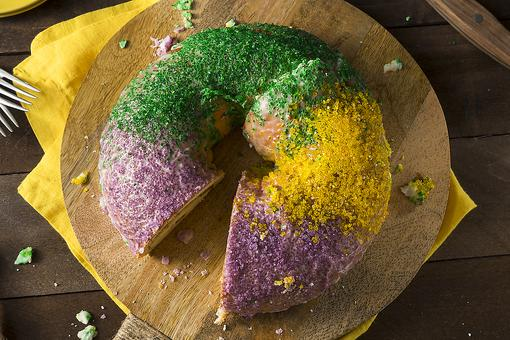 Mardi Gras Cake Recipe: This Could Possibly Be the Easiest Mardi Gras King Cake Recipe Ever