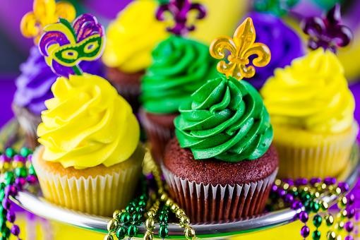 Mardi Gras Cupcakes: Celebrate Fat Tuesday With These Easy Treats