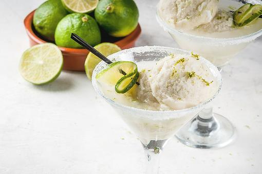 Make This Easy Margarita Ice Cream Recipe Right Now Because It's 5 O'clock Somewhere