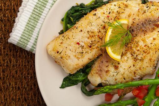 Mediterranean Baked Fish Recipe: This Skinny Baked Fish Recipe Cooks in 20 Minutes