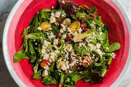 Mediterranean Chopped Salad Recipe: This Easy Greek Salad Has a 3-Ingredient Lemon-Oregano Vinaigrette Dressing