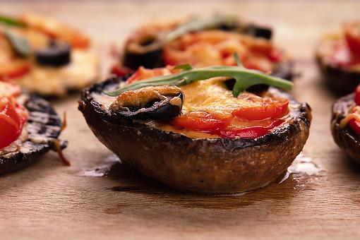 Caprese Portobello Mushrooms Recipe: This Easy Portobello Mushroom Recipe Will Transport You to the Mediterranean