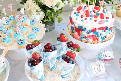 July 4th Entertaining: 7 Fun Patriotic Trends for Independence Day From Debi Lilly
