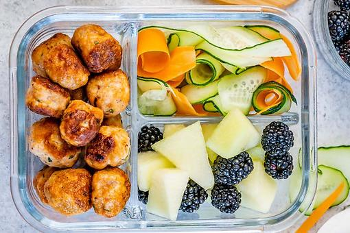 Healthy Cold Lunchbox Recipes: Easy Mini Turkey Meatballs Recipe for Work or School Lunches