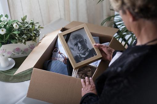 Moving Forward After Loss: The Surprising Results of Clearing My Husband's Belongings After His Death