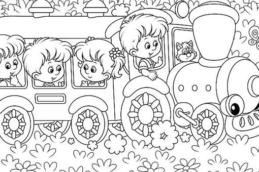 Moving Vehicle Coloring Pages: 10 Fun Cars, Trucks, Trains (and More!) Printable Coloring Pages for Kids