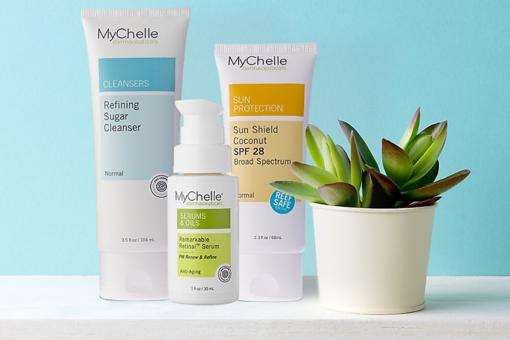 MyChelle: Harness the Power of Apple Plant Stem Cells for Great-Looking Skin