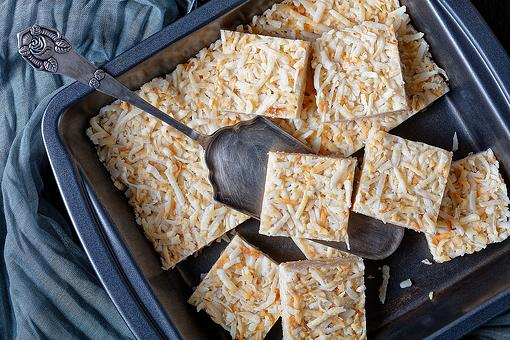 No-Bake Coconut Crack Bars Recipe: This Amazing Coconut Bars Recipe Is Low Carb, Gluten Free & Dairy Free
