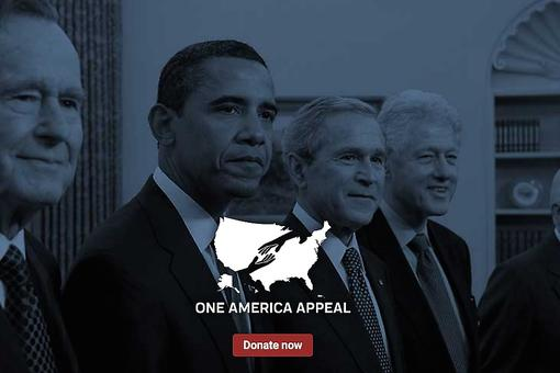 One America Appeal: Former U.S. Presidents Join Forces to Support Hurricane Recovery Efforts In Puerto Rico, Texas, Florida & Beyond