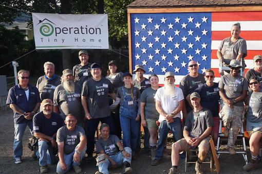 Operation Tiny Home: Building a Difference, Transforming Lives