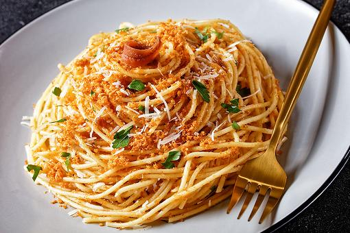 20-Minute Pasta Mollicata Recipe: Nothing Poor About This Southern Italian Pasta With Breadcrumbs Recipe