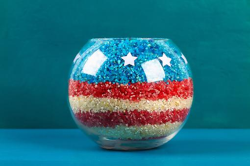 Patriotic Crafts for Kids: These DIY July 4th Candle Holder Decorations Are So Easy to Make!