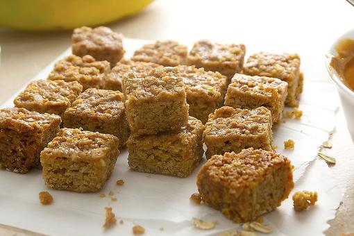 Peanut Butter Banana Oatmeal Squares Recipe: Are They Breakfast Cookies, Energy Bites or Snack Bars?