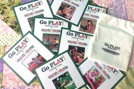 "Play & Grow's ""Go Play!"" Activity Cards: A Fun Way to Keep Babysitters Off Their Phones While on Duty!"