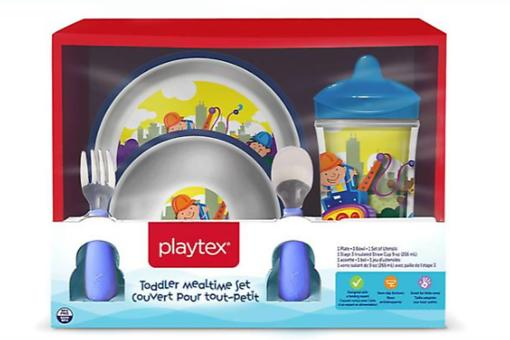 Playtex Recalls Children's Plates & Bowls Due to Choking Hazards