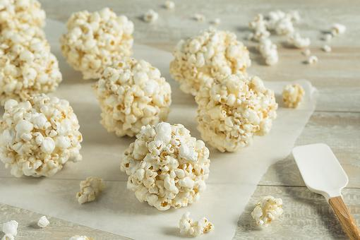 Classic Popcorn Balls Recipe: This Easy Popcorn Ball Recipe Is a Blank Canvas for Whatever You're Celebrating