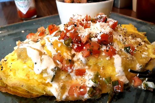 Pork Carnitas Omelette Recipe: This Easy Omelet Recipe Has a Southwest Twist