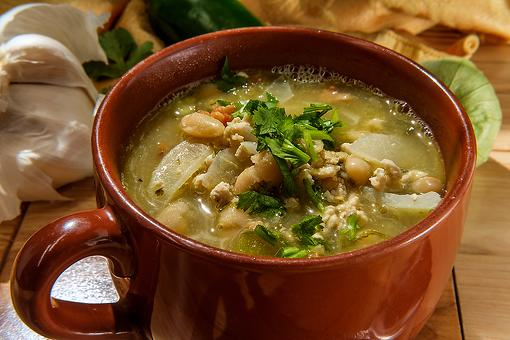 Pork Chili Verde & White Beans: This Slow-cooker Pork Chili Recipe Is the Happy Ending to Your Day