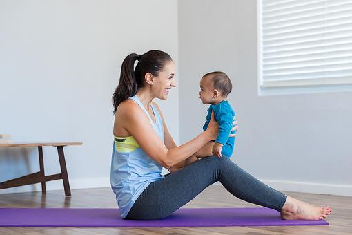 Postnatal Yoga: New Mom, Here's How to Set Up Your Yoga Space!