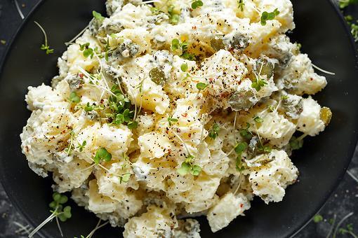 Truffle Potato Salad Recipe: This Creamy Potato Salad Recipe Takes It Up a Notch