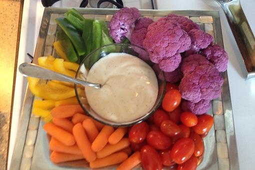 Purple Cauliflower? Yep! Bet Your Kids Will Love It!