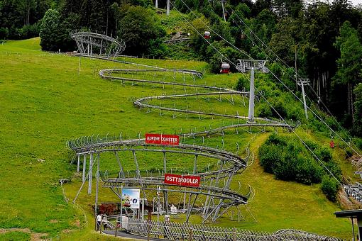 Lienz, Austria: Racing Through the Austrian Dolomites on the Osttirodler Alpine Coaster