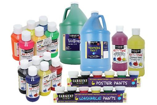 Sargent Art Recalls Craft Paints Due to Risk of Exposure to Bacteria