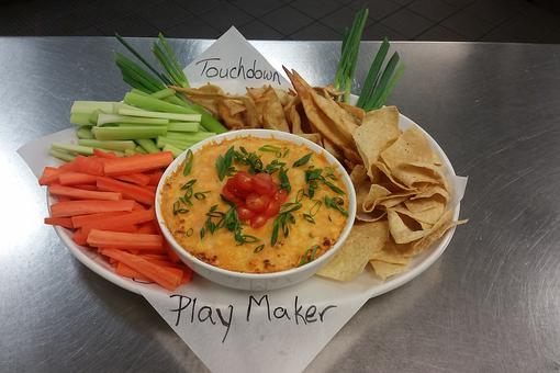 ​Score At Your Super Bowl® Party: How to Make Play Maker Buffalo Chicken Dip!