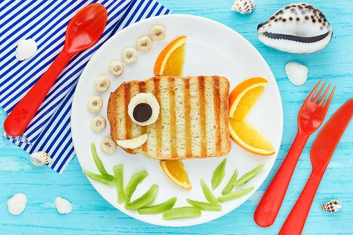 Fun Food for Shark Week: Make This Adorable Shark-Shaped Sandwich for Your Kids
