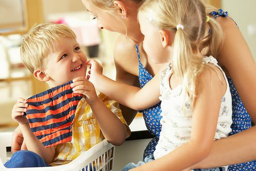 Sorting Clothes Can Help Toddlers & Preschoolers Learn (Seriously, So Stop Hatin' on Laundry)!