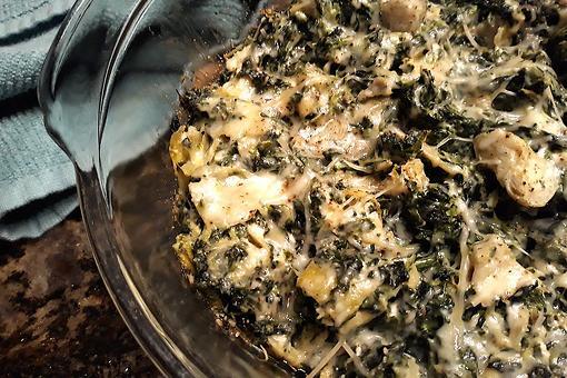 Best Baked Artichoke & Spinach Casserole Recipe: Creamy Spinach & Artichoke Casserole Recipe Is a Side Dish Superstar